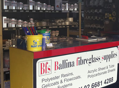 Ballina Fibreglass Supplies